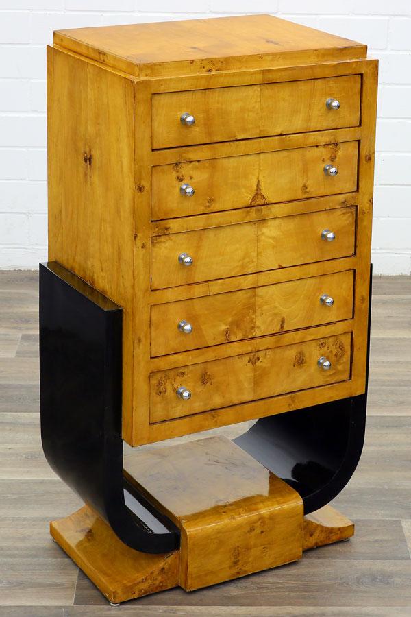 art deco kommode moreko gmbh. Black Bedroom Furniture Sets. Home Design Ideas
