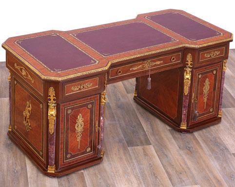 Mahagoni Schreibtisch | Mahagoni Schreibtische - MOREKO GmbH