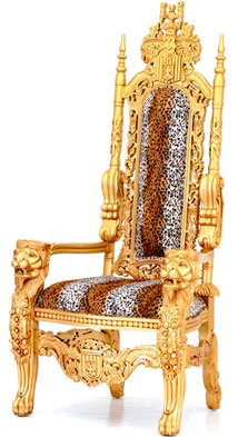 Kingchair Thronsessel