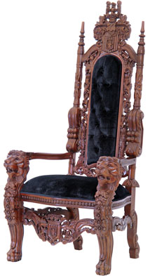 Kingchair black