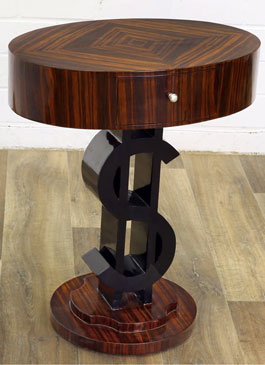 ART Deco Dollar Table
